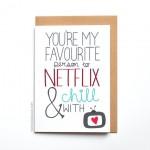 Sei la persona che preferisco per guardare netflix