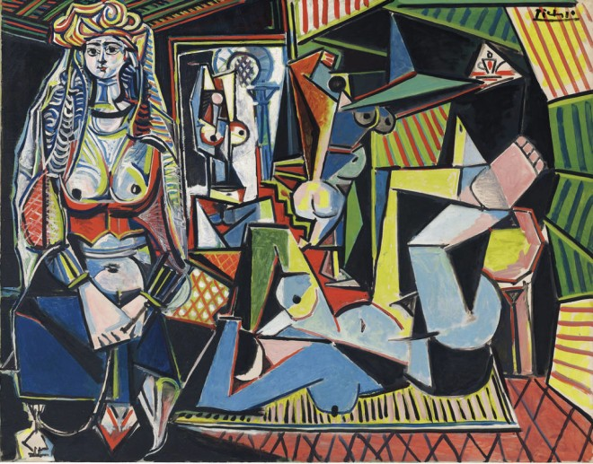 Pablo Picasso Donne di Algeri