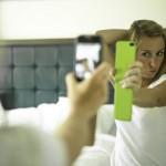 Usare lo schermo come uno specchio