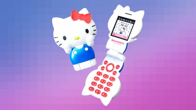 hello kitty, cellulare
