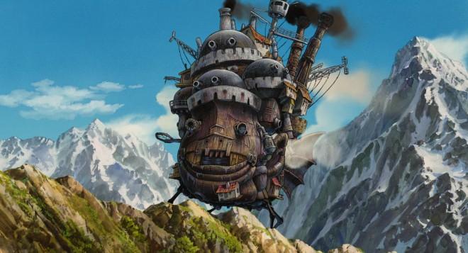 castello errante di howl miyazaki