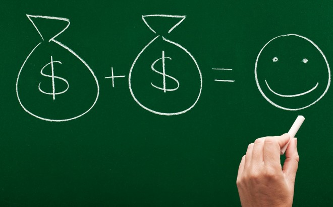 Money-equals-Happniess