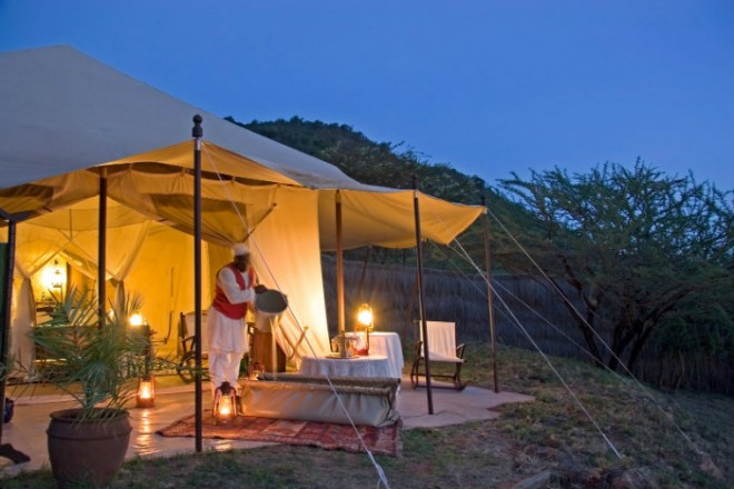 Cottars - 1920s Style Tent
