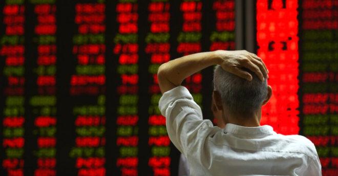 Crollo Borsa Shangai
