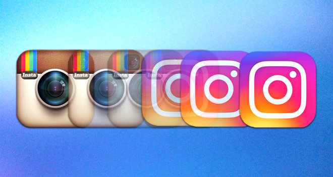 Evoluzione Logo Instagram