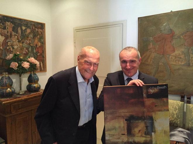 Umberto Veronesi e Gianmarco Cammi