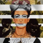 Autoritratto di Frida Kahlo e Joan Crawford