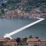 The Floating PiersProject for Lake Iseo, Italy, Christo and Jeanne-Claude