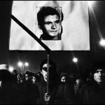 Prague. 1968. Funerale di Jan Palach