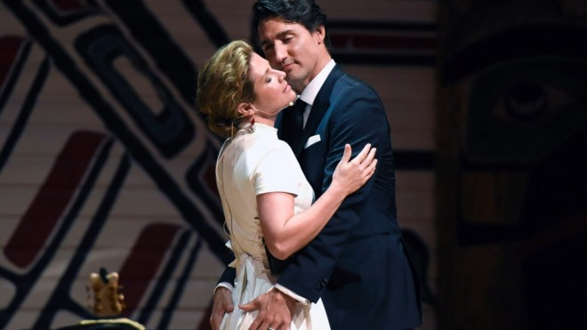 trudeau wife