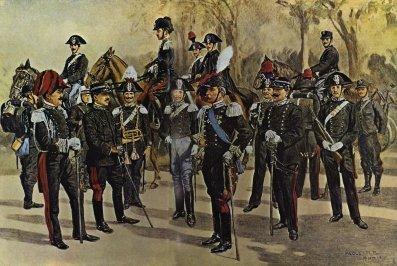 corpo dei reali carabinieri