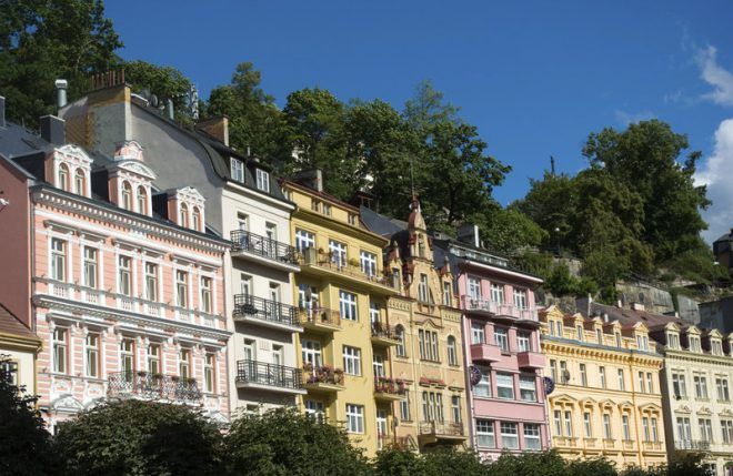 Karlovy Vary, Repubblica Ceca Photograph www.thinkstockphotos.co.uk