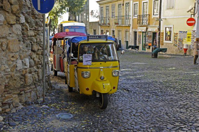 Tuk Tuk Lisbon