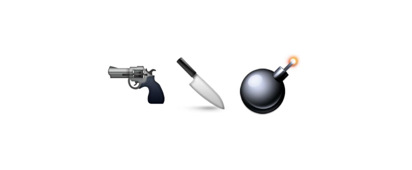 emoji-bomba-pistola