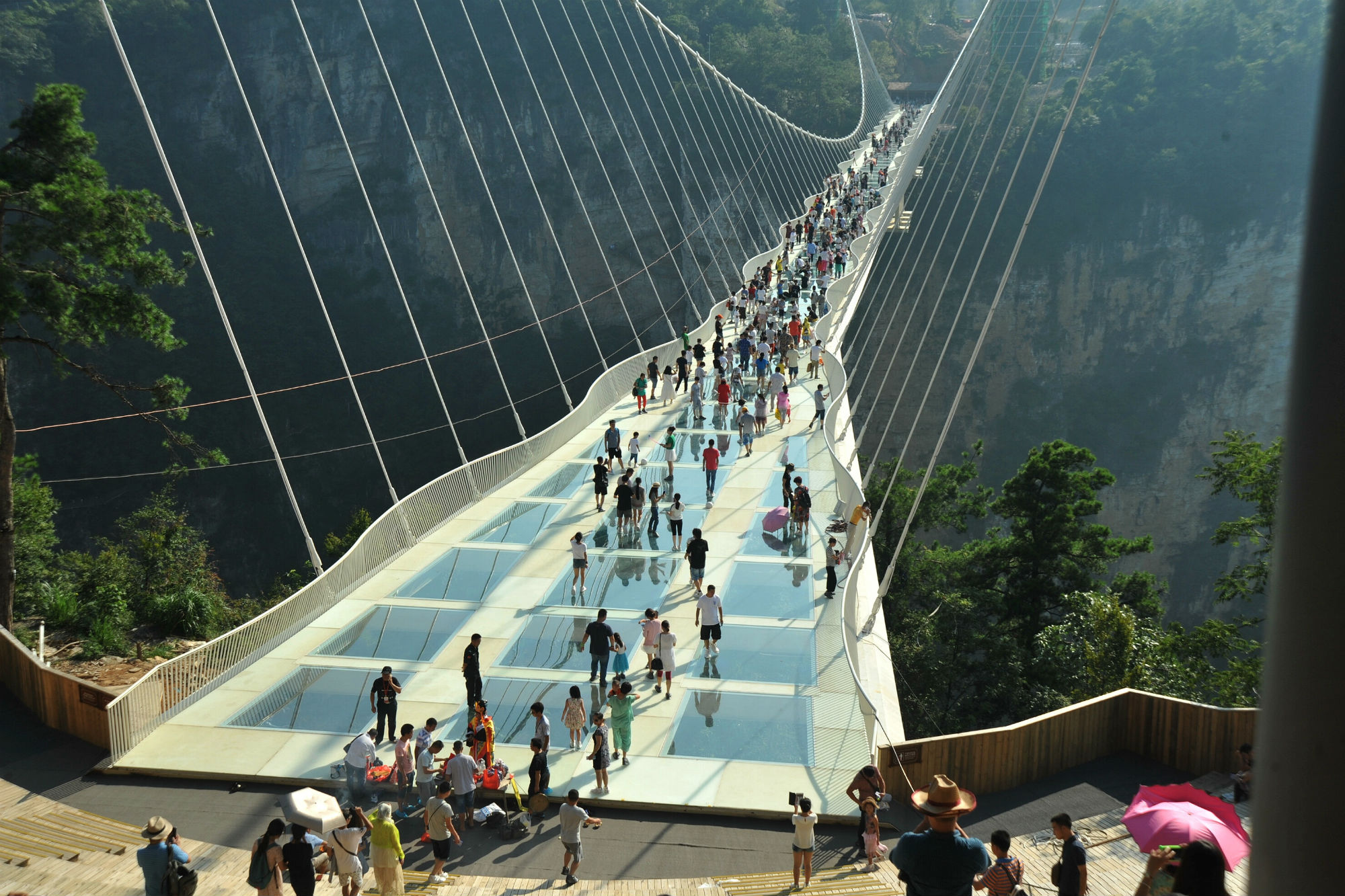 ponte vetro Cina