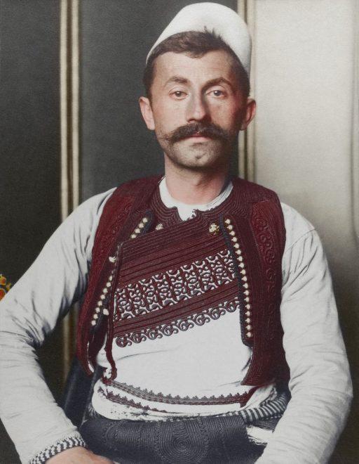 Uomo albanese