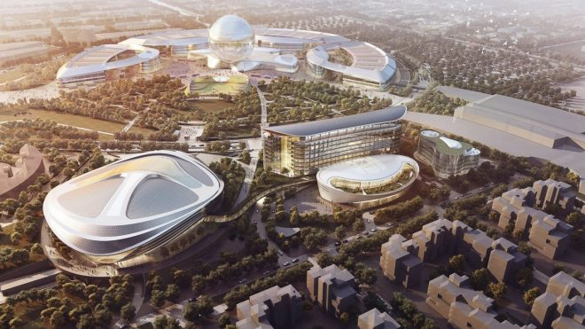 L'Astana Expo City si estenderà per più di 5 milioni e mezzo di metri quadri, creando così una nuova zona di Astamza