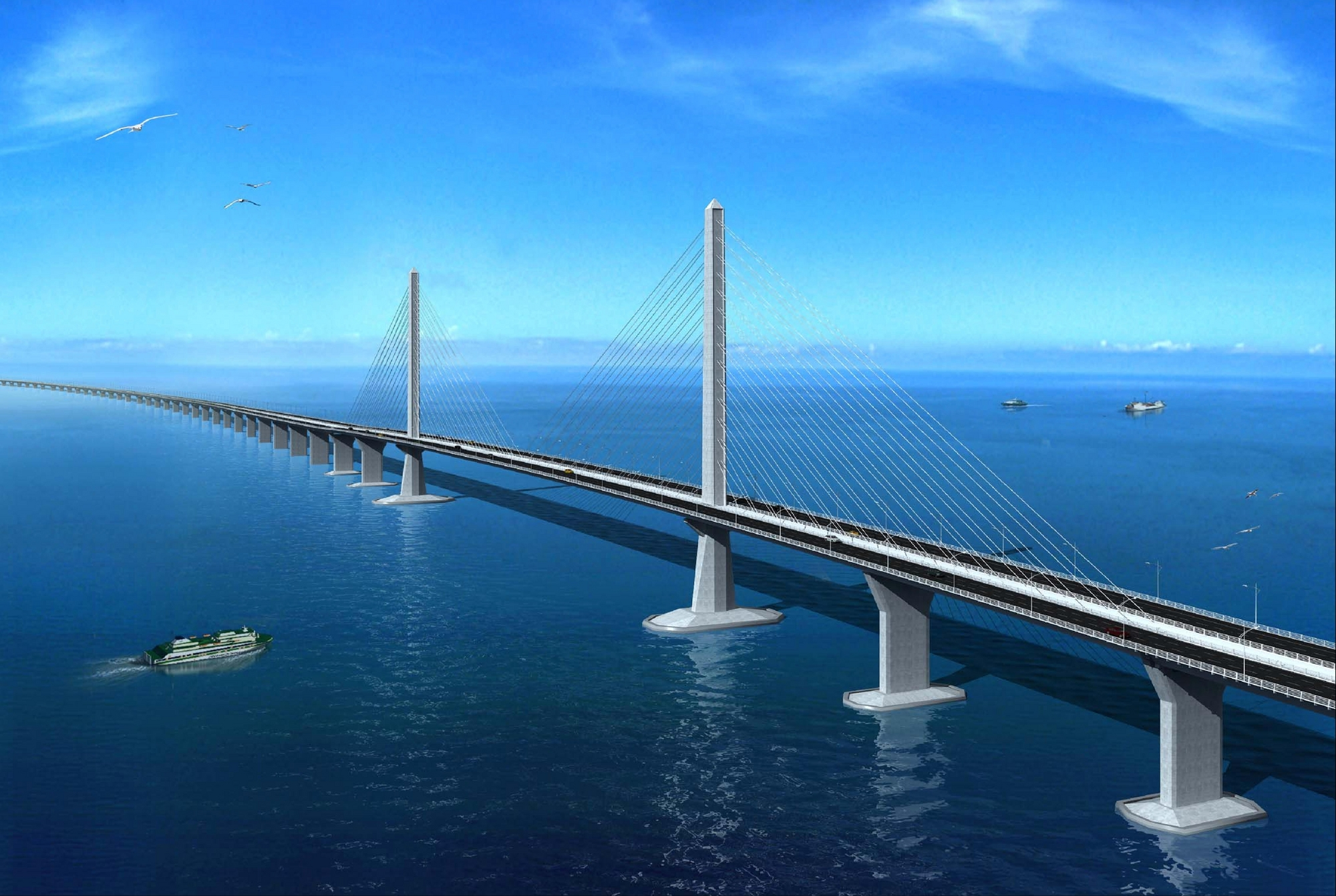 Ponte tra Hong Kong, Zhuhai e Macao