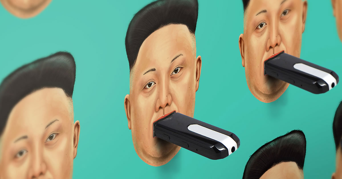 north corea usb