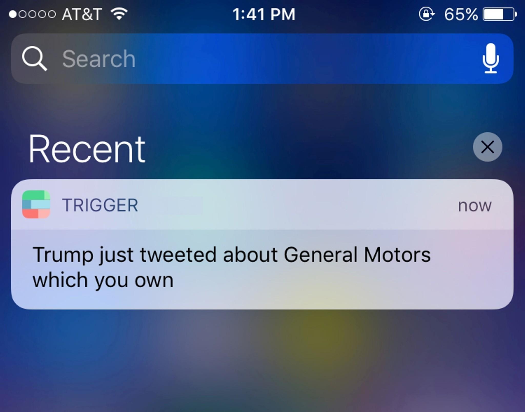 trump trigger
