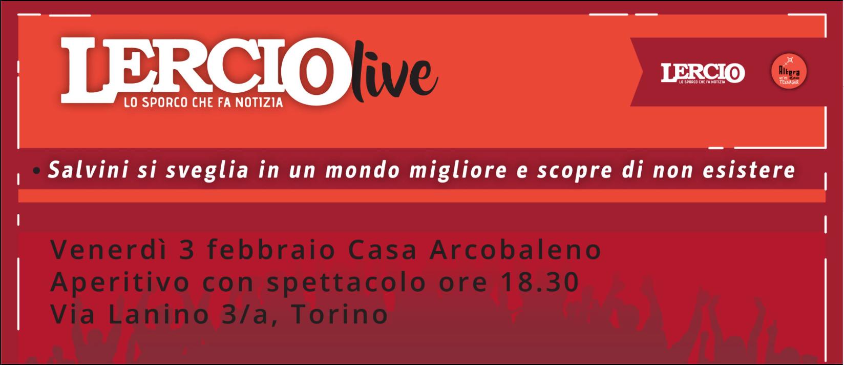 Lercio live