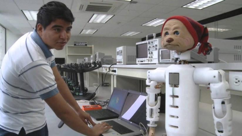 TecO robot bear autism