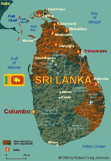 guerra civile sri lanka