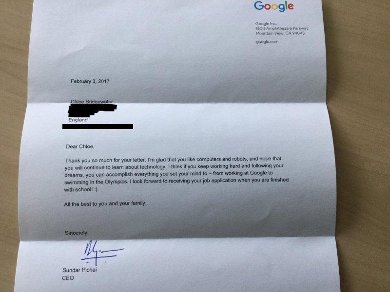 risposta ceo google