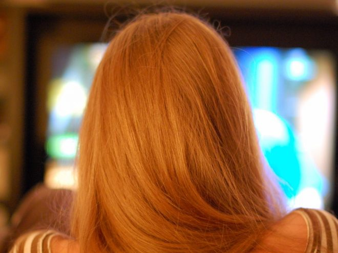 spettatore tv