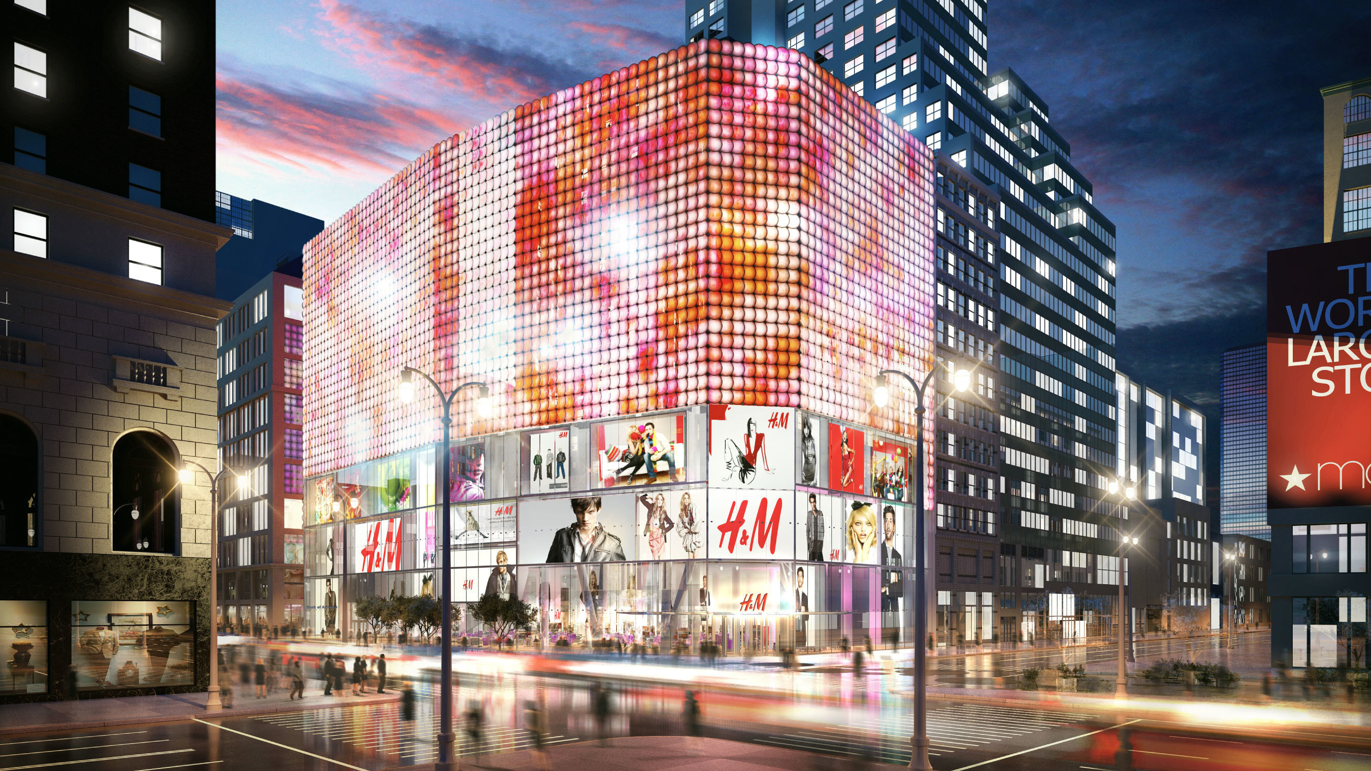 H and M Rendering