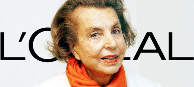 Liliane-Bettencourt-LOreal-heiress