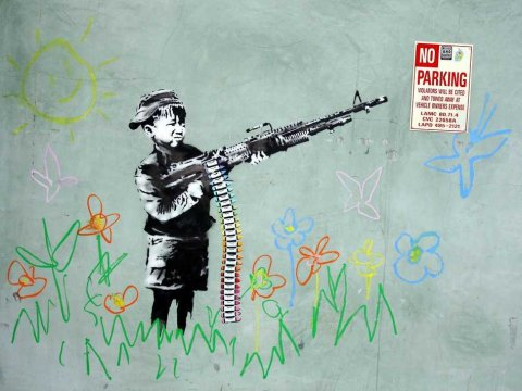 banksy-crayon