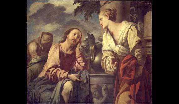 Gesù e la Samaritana di Pietro Negri
