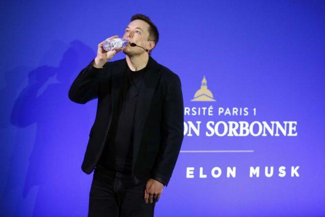 elon musk drink