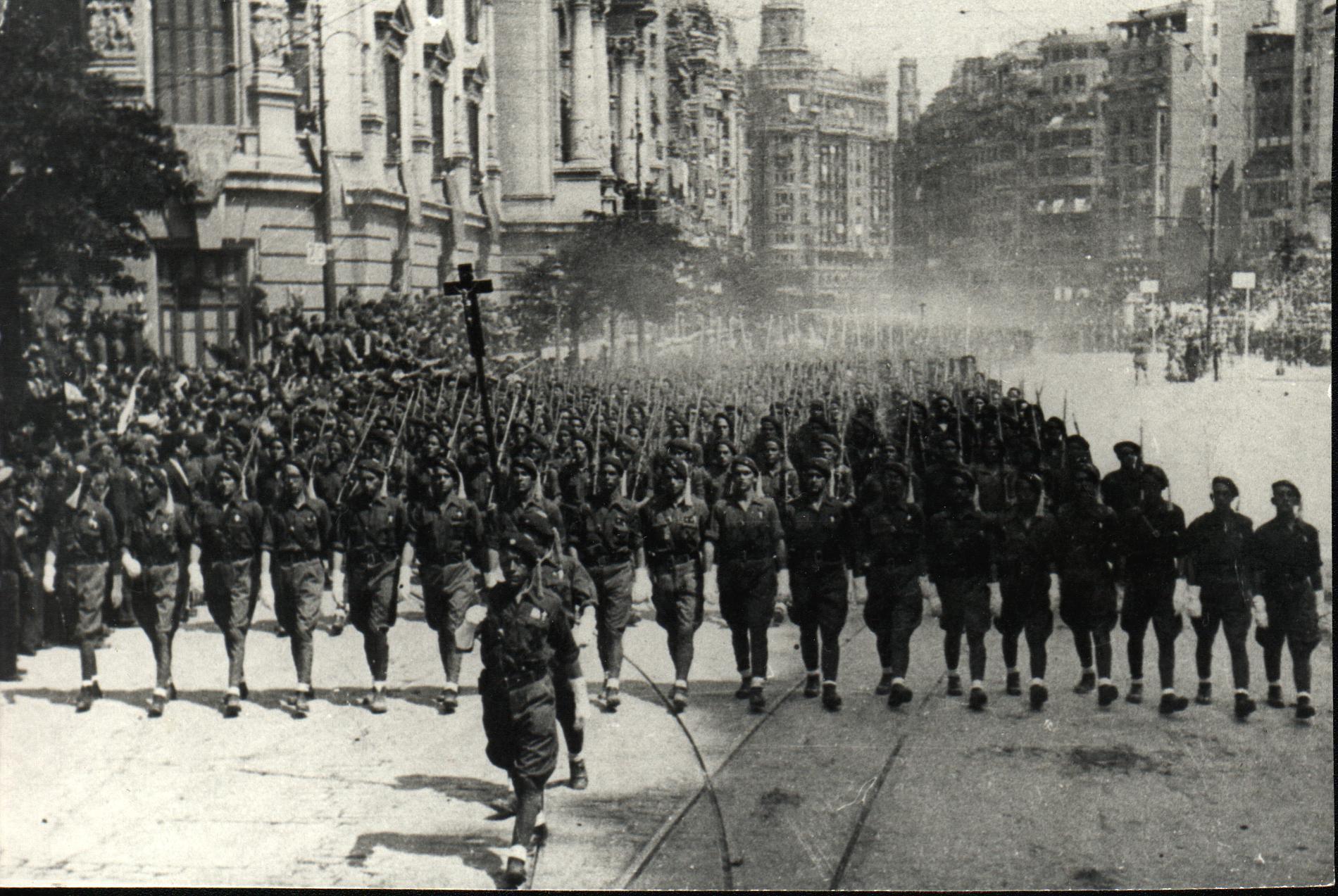 guerra civile spagnola, franco, spagna