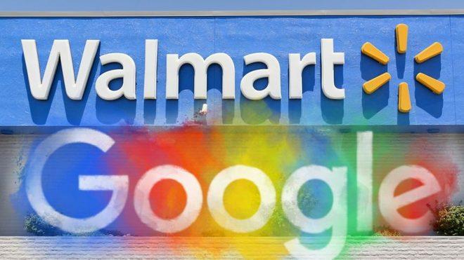 Walmart e google