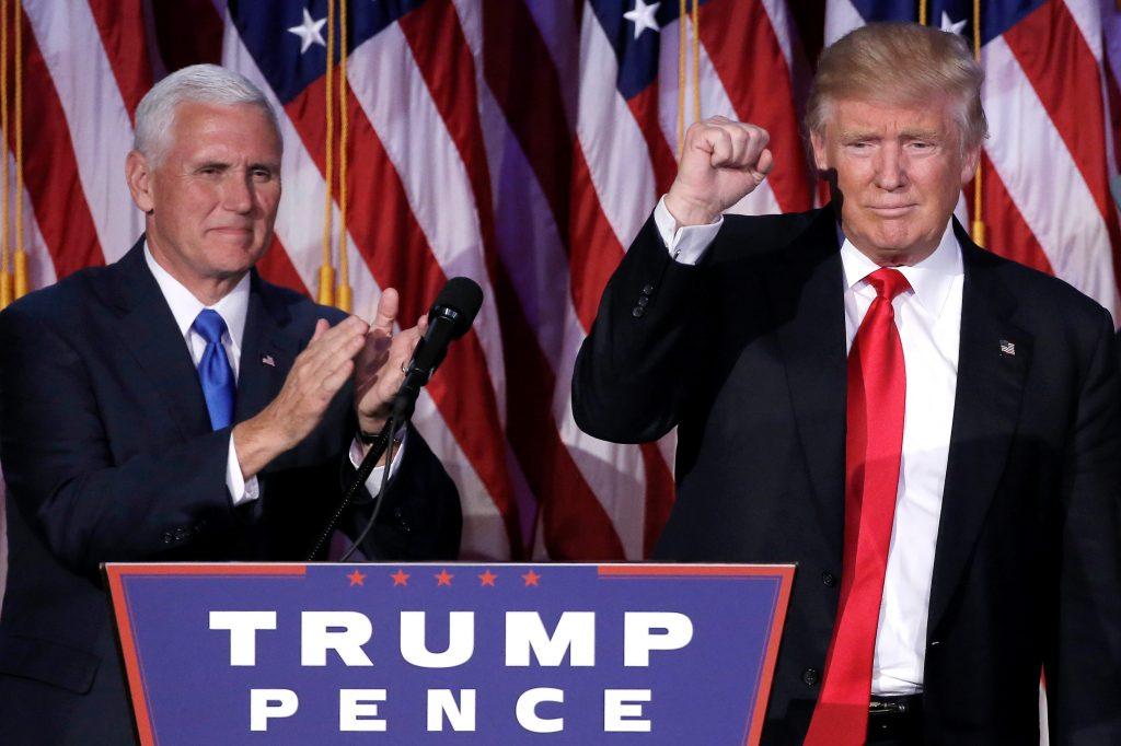 Trump e Pence