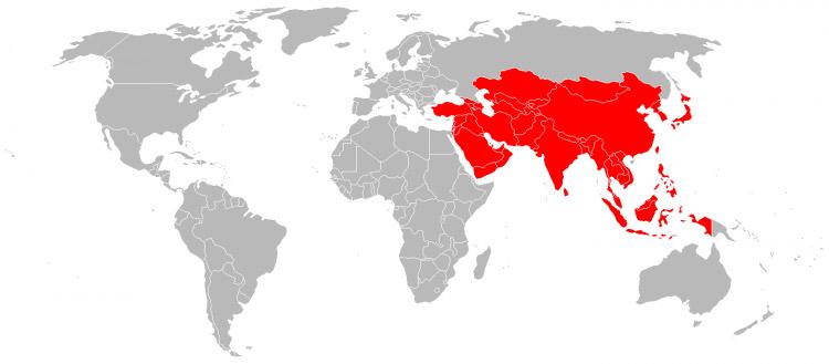 Mappa-Asia