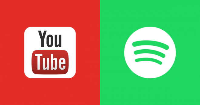 youtube spotify
