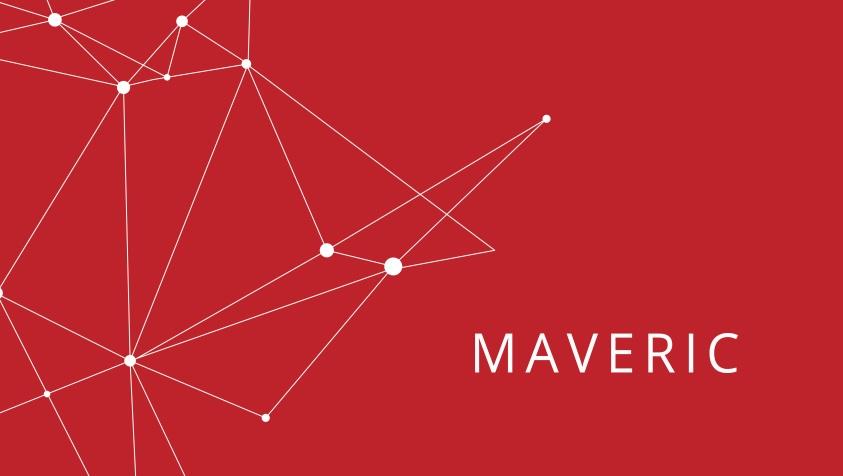 maveric, blockchain