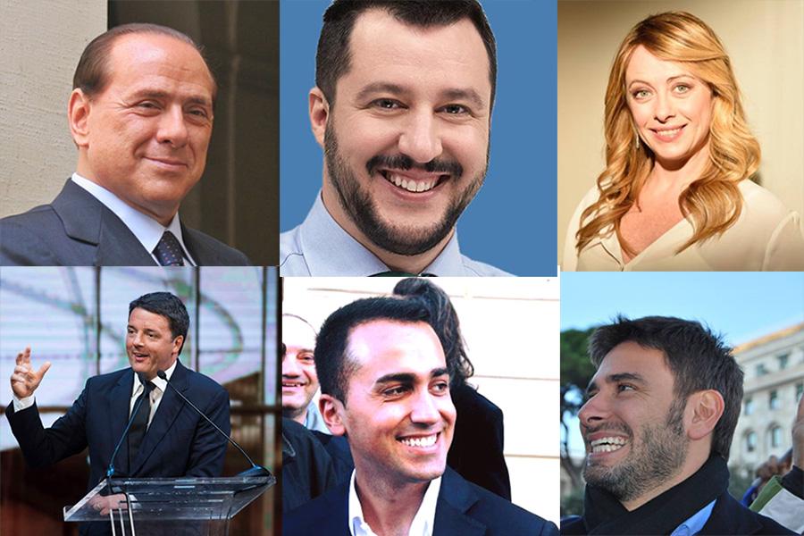 leader politici italiani