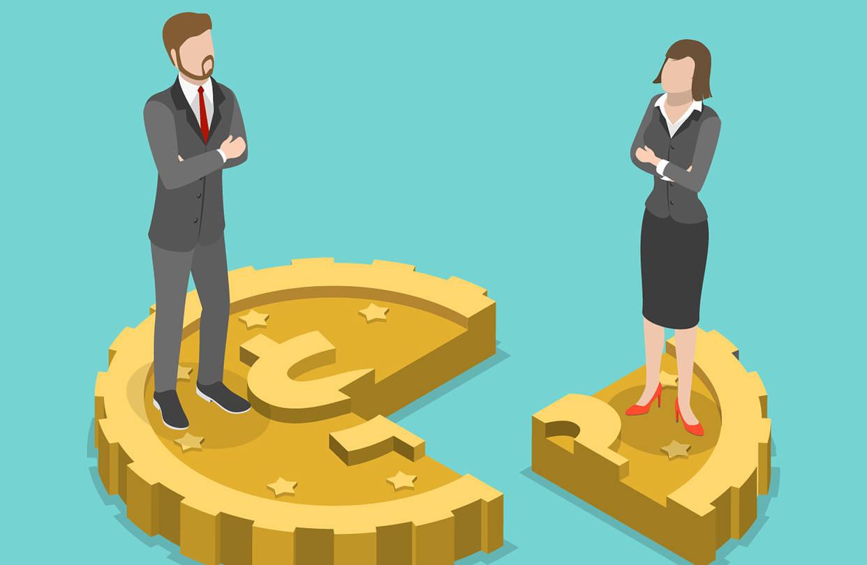 Behind the gender pay gap